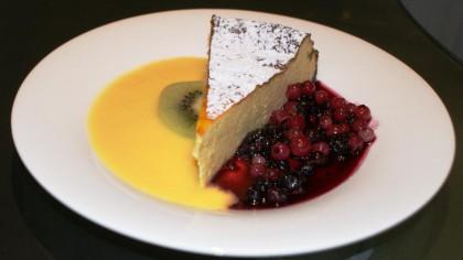 Käsekuchen, Quarktorte - Rezept low carb