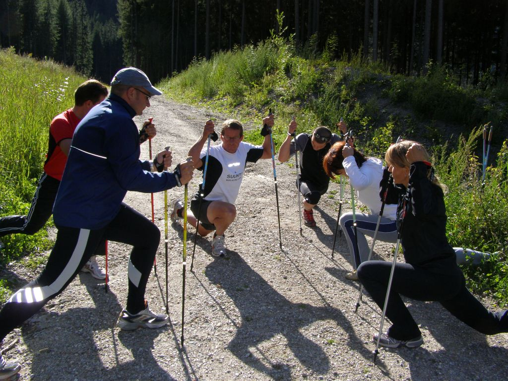 Nordic Walking Stretching