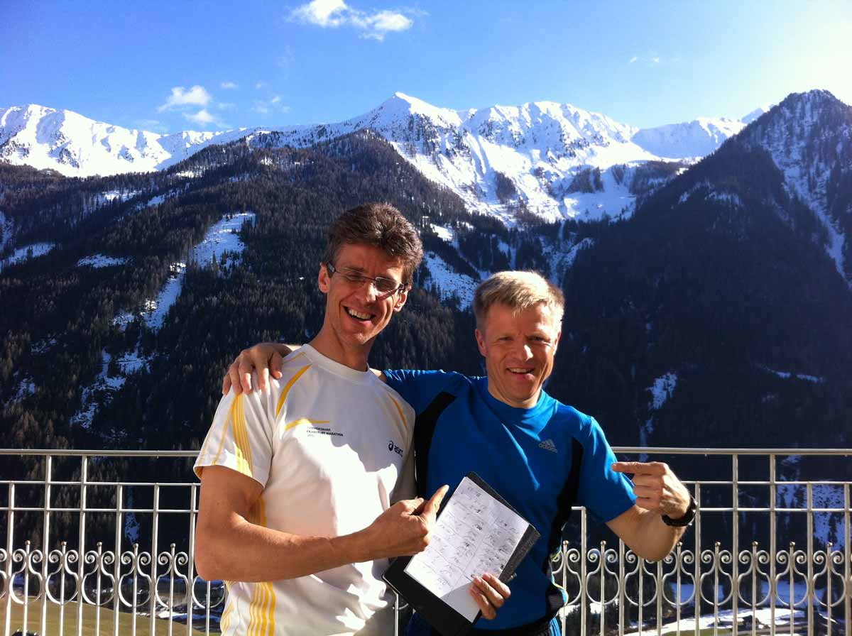Marathon Trainingswoche Südtirol
