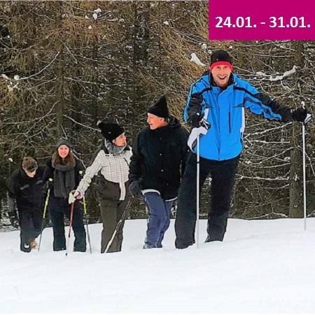 Winterfun Spass im Schnee 3 Bergtouren