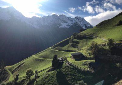 Wanderung Kaesekulturweg Muehlwald Ahrntal Landpalais